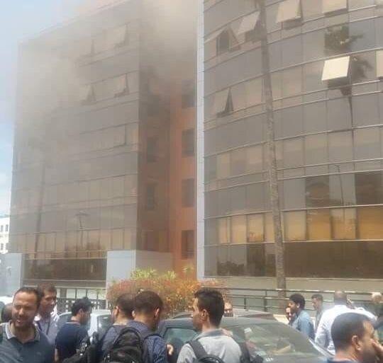 إنوي تنفي توقف خدماتها بعد إندلاع حريق بمقرها الرئيس بالدارالبيضاء