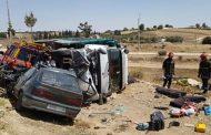 سقوط 21 جريحاً في حادث سير مروع بالعرائش !