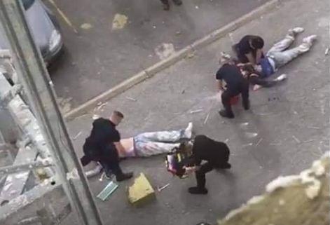 صور وفيديو/ مقتل عامل مغربي إثر سقوطه من الطابق الـ18 وسط باريس !