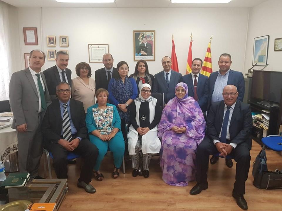 برلمانيون يقفون على تطور الخدمات القنصلية لمغاربة أوربا
