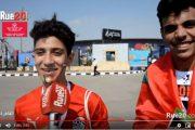 فيديو | جماهير مصرية شجعت أسود الأطلس في مباراة ناميبيا !