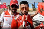 فيديو | حضور كبير للجماهير المغربية في مباراة ناميبيا !