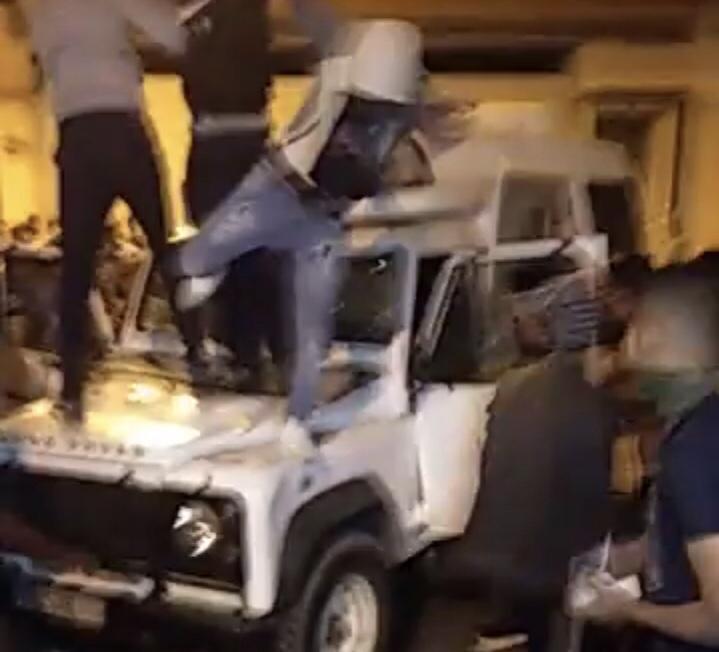 صور/إنفصاليون يُحدثون فوضى عارمة بشوارع العيون خلال إحتفالات تتويج المنتخب الجزائري