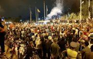فيديو من السعيدية/عشرات الألاف من المغاربة يحتفلون بتتويج الجزائر على الحدود
