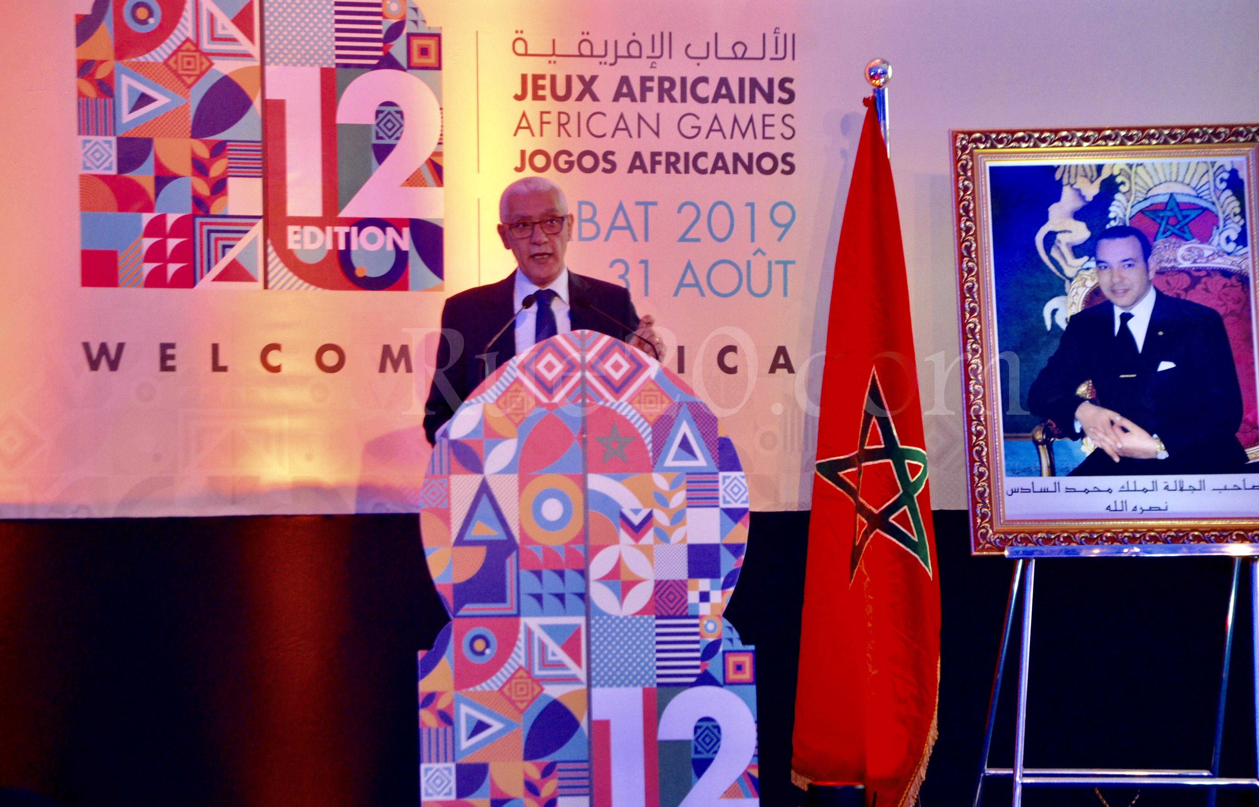 فيديو/المغرب يتطلع لتنظيم من مستوى عالي للألعاب الإفريقية المؤهلة للألعاب الأولمبية