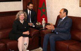 القائمة بالأعمال بسفارة أمريكا تُشيد بمتانة العلاقات المغربية الأمريكية في لقاءها بالمالكي