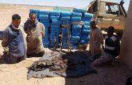 موريتانيين يسقطون في قبضة البوليساريو و في حوزتهم طن من الحشيش و أسلحة رشاشة !
