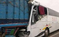سقوط مصابين في حادث اصطدام بين حافلة و شاحنة بشيشاوة !