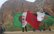مغاربة وجزائريون يحتفلون بتأهل 'الخضر' على ضفاف الحدود !
