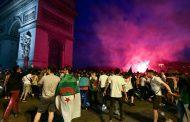 احتفالات الجزائريين بتأهل منتخبهم تتحول إلى فوضى بباريس و السلطات الفرنسية تعتقل 282 شخصا !