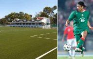صور/ نجم الكرة المغربية يوسف شيبو يفتتح مدرسة كروية بالقنيطرة !