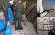 إحباط عملية تهريب 345 كلغ من الحشيش و اعتقال مواطنين إسبانيين بمعبر سبتة !