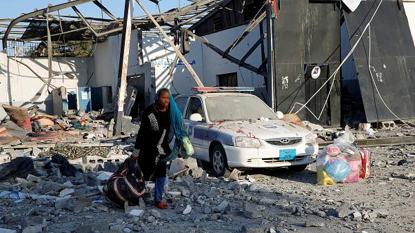 ارتفاع عدد الضحايا المغاربة في قصف مركز للمهاجرين بليبيا إلى 9 مصابين و مفقودين آخرين !
