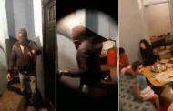 فيديو مُرعب. مُلثمَين يُهاجمون أسرة مغربية بالسيوف بسبب مراجعة إعتقادها الديني