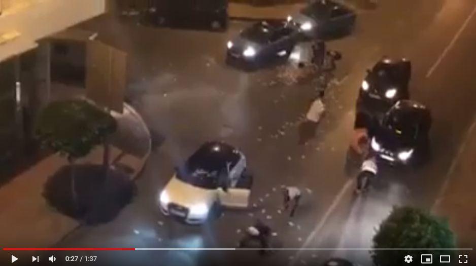 """فيديو/ هذه حقيقة فيديو """"الفلوس المشتتة"""" بشوارع طنجة !"""