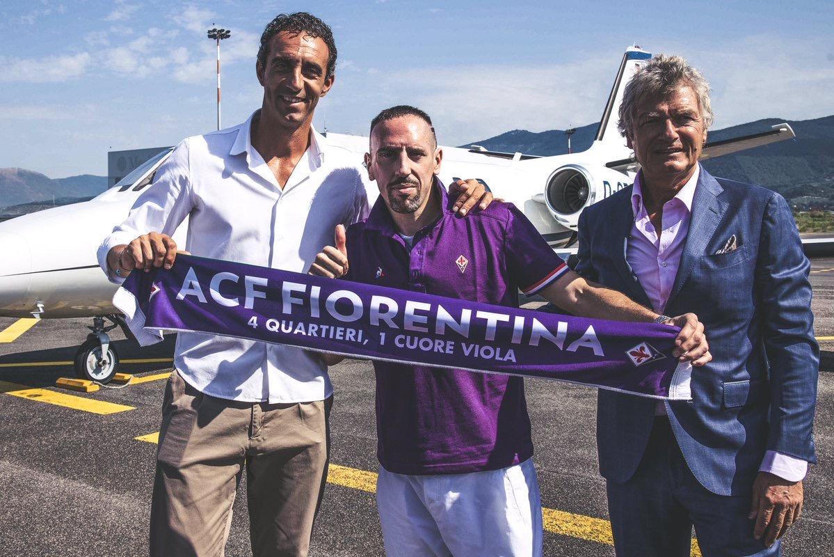 الفرنسي ريبيري ينتقل من بايرن ميونيخ الى صفوف فيورنتينا الإيطالي