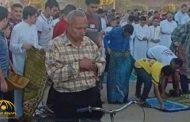 وفاة مصري ظهر وهو يؤدي صلاة العيد على دراجته !