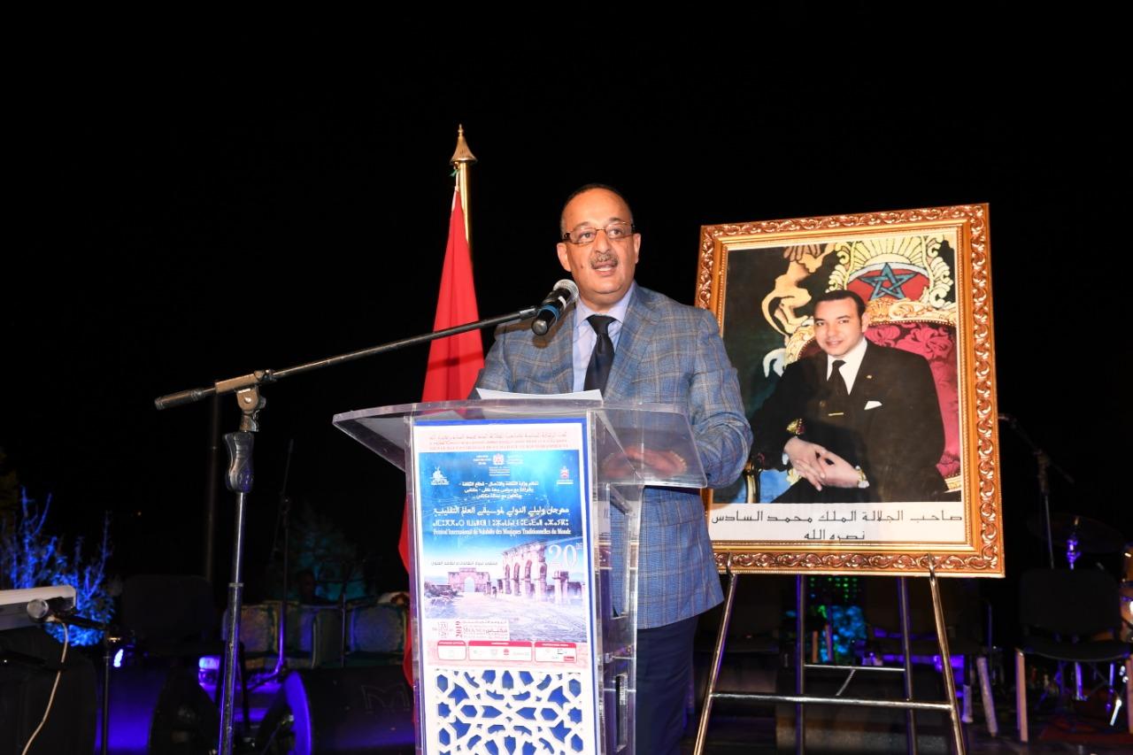 الأعرج : مهرجان وليلي بموقعه الأثري مساحةٌ للتسامح والسلام والتبادل بين الثقافات