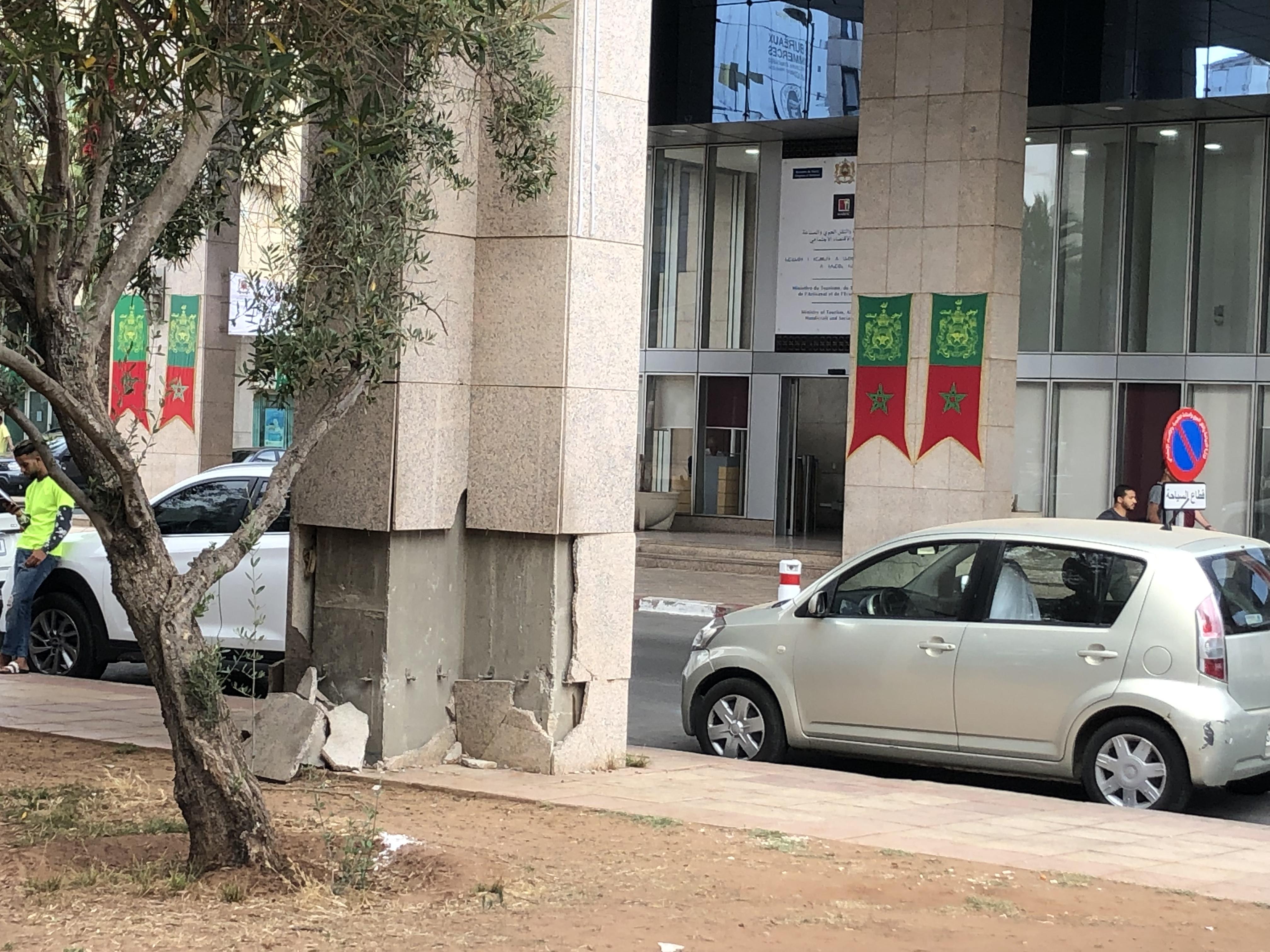 صور/حي الرياض الراقي يتحولُ لحي مُتسِخ وكارثي في عهد تسيير البيجيدي