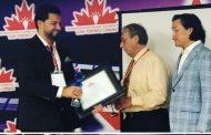 مخترع مغربي يُتوٓج بجائزة كندا الكُبرى عن إبتكاره حلاً ذكياً لمشكلة الجيل الخامس للإتصالات
