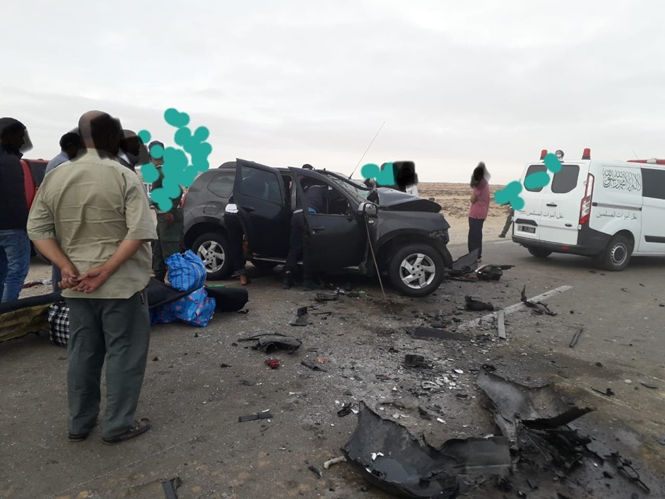 حادث سير مروع يودي بحياة شخص على الطريق الساحلي بين الناظور و السعيدية !