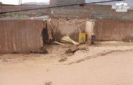 الفيضانات تودي بحياة شخص بجرادة .. 'براكة' انهارت على رأسه رفقة زوجته !