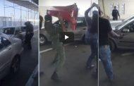 فيديو/ الجمارك تطلق الرصاص على شخص هائج اقتحم معبر سبتة بالقوة !