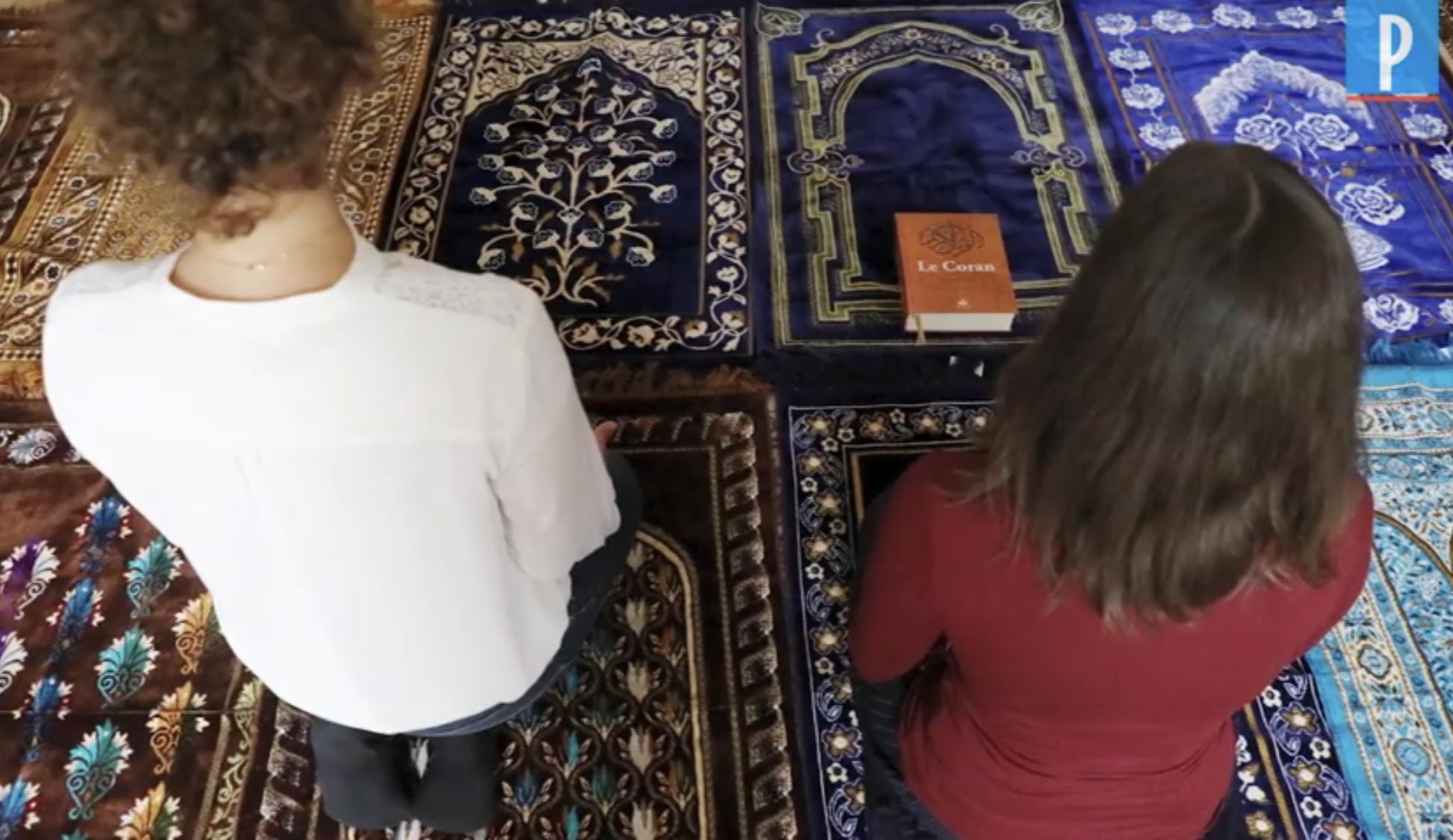 فيديو/شاهدوا أول إمرأة إمام مسجد بفرنسا بدون حجاب