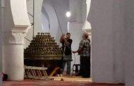 صور/ 'الثريا الكبرى' تعود إلى جامع القرويين بعد جدل نقلها إلى متحف اللوفر !