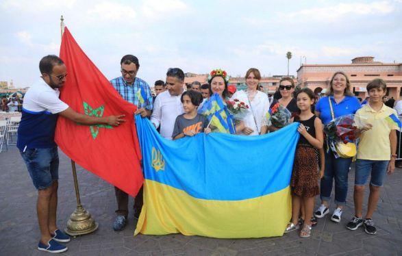 مسن أوكراني يصل المغرب على دراجته الهوائية !