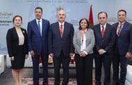 رئيس النيابة العامة يتباحث مع عدد من المسؤولين القضائيين الأجانب بمراكش