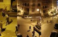 فيديو/ مواجهات عنيفة بالأسلحة و القنابل المسيلة للدموع بمارينا طنجة !