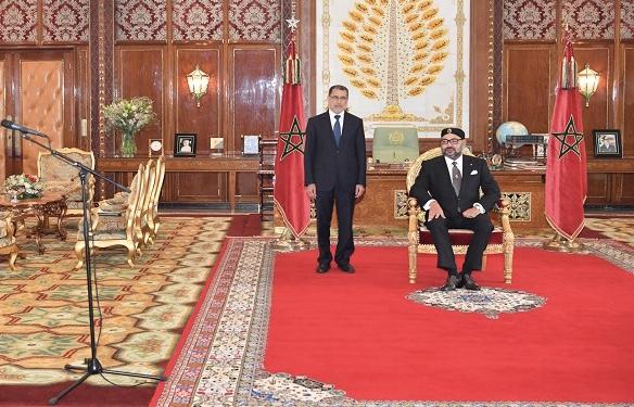عاجل. القصر يُعلن عن أسماء وزراء الحكومة المُعدٓلٓة