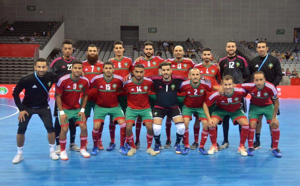 المنتخب المغربي لكرة القدم داخل الصالة يفوز على الدنمارك ويُتوج بدوري دولي بالصين