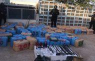 حجز أزيد من طن من الشيرا و اعتقال مبحوث عنهم وطنياً بأوطاط الحاج !