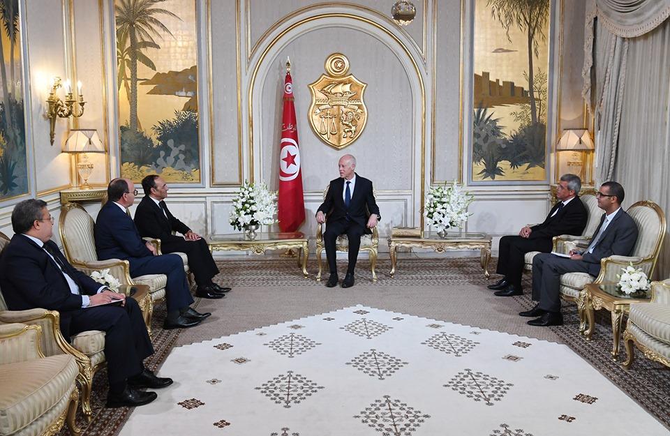 قيس سعيد يشيد بالملك محمد السادس و يؤكد عزمه تعزيز العلاقات بين المغرب و تونس !