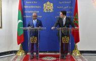 المالديف تجدد دعمها الكامل للوحدة الترابية والسيادة المغربية على صحراءه