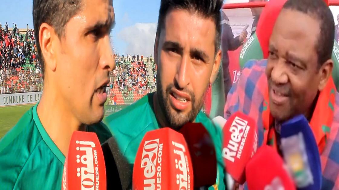 فيديو/مُشاركة للاعبين دوليين في إحتفالات المسيرة الخضراء بالعيون