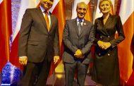 الرئيس الپولوني يستقبل سفير المغرب لدى وارسُو في إحتفالات ذكرى 101 لإستقلال مركز أوربا الشرقية