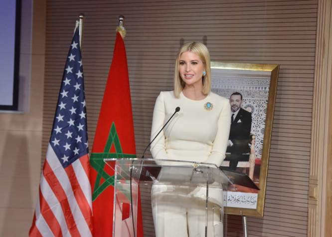 إيفانكا ترامب تُسوقُ صورة المغرب الحداثي وأمريكا تُشيدُ بريادة محمد السادس في قضايا الأمن والإستقرار بأفريقيا