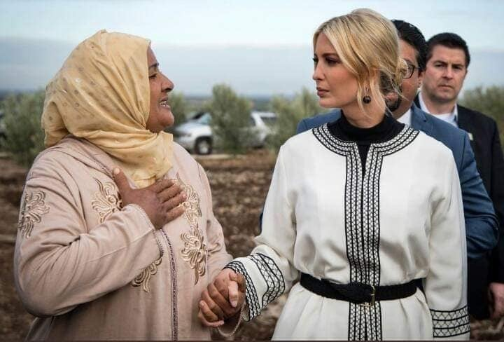 إيفانكا ترامب تهنئ الحكومة المغربية بتعزيز حقوق المرأة و تمليك الأراضي السلالية !