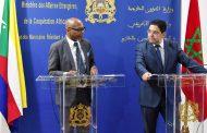 نصرٌ دبلوماسي. مبعوث رئيس جزر القُمر يُعلن من الرباط إفتتاح قنصلية بلاده بالعيون