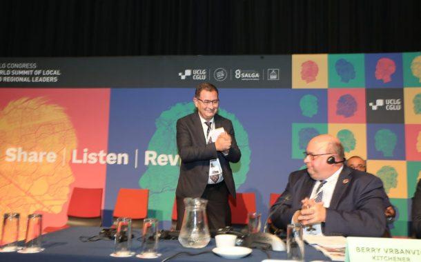 المغرب يظفرُ برئاسة منظمة المدن والحكومات المحلية العالمية بجنوب أفريقيا