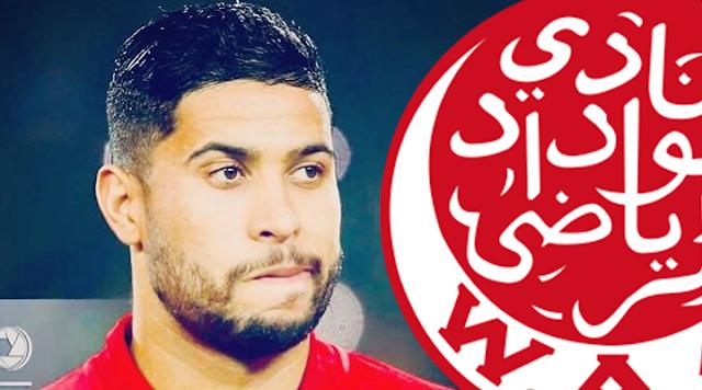 جامعة الكرة توقف لاعب الوداد يحيى جبران 6 مباريات !