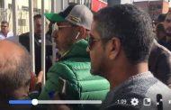فيديو | منع المعلق التلفزيوني عبد الحق الشراط من دخول ملعب برشيد !