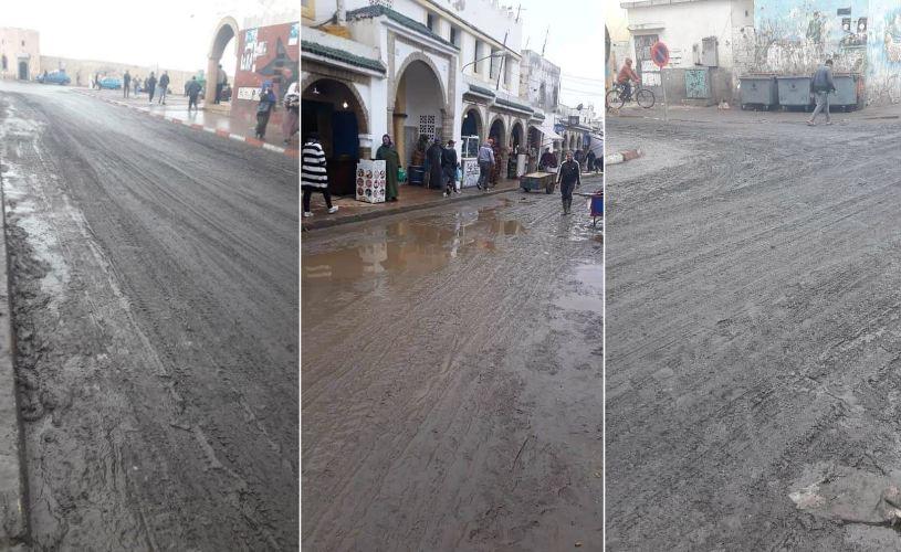تساقطات الأمطار تفضح هشاشة البنية التحتية بالصويرة !