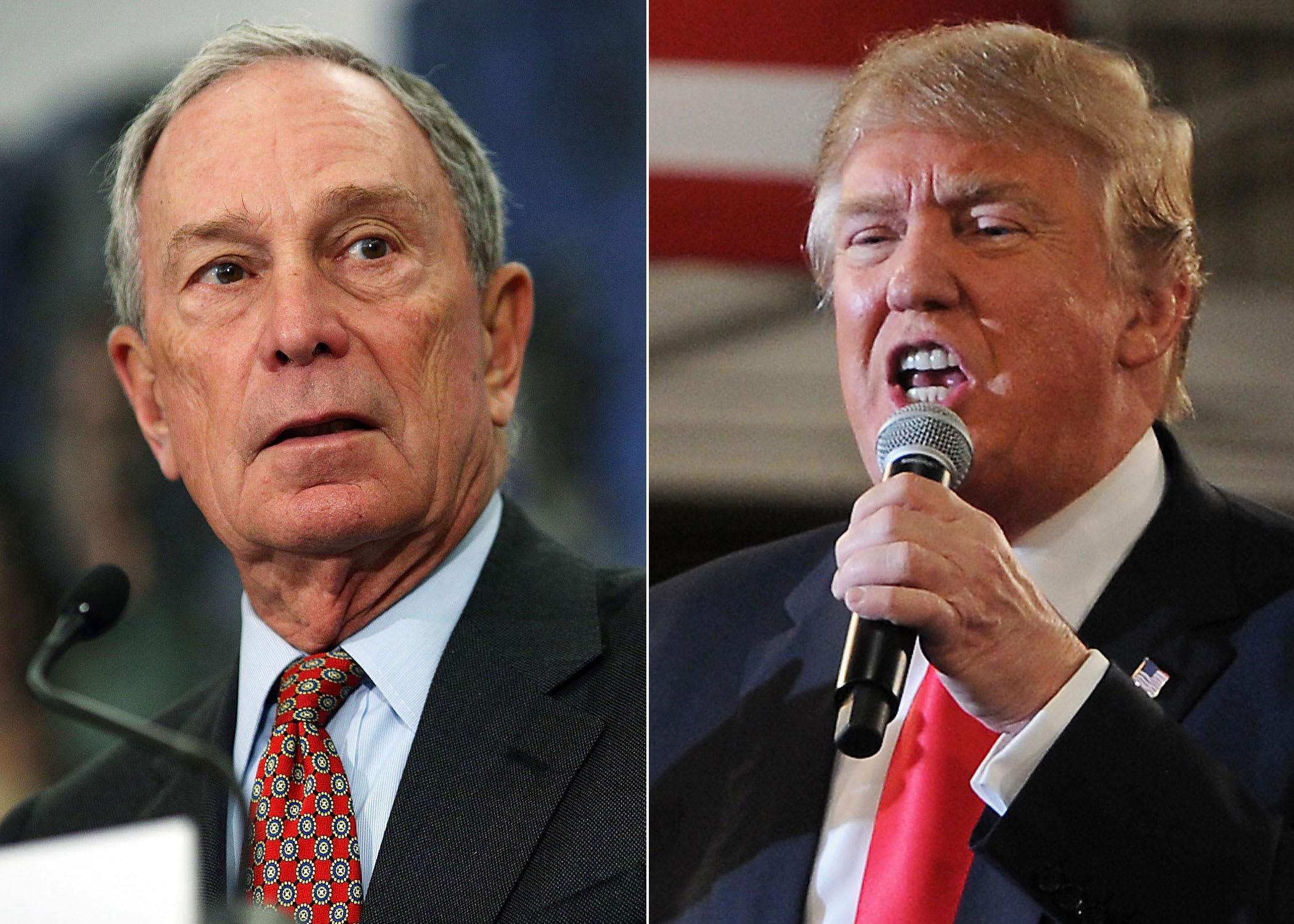 الملياردير بلومبرغ يستعد لخوض انتخابات الرئاسة الأمريكية للإطاحة بترامب !