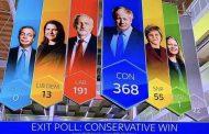 فوز كاسح لبوريس جونسون بالإنتخابات البرلمانية في بريطانيا وسُقوط مُدوٍ للعُمال