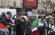 فيديو/الجزائريون يغلقون مقرات القنصليات بفرنسا رفضاً للانتخابات الرئاسية