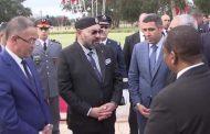 فيديو/ الملك يأمر بعلاج التيمومي أثناء تدشين مركب محمد السادس لكرة القدم !